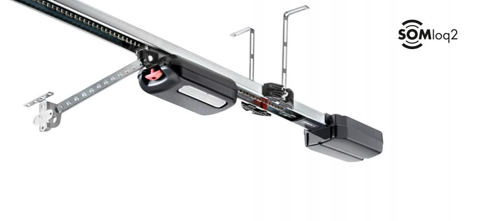 SOMMER base+, the intelligent garage door operator, expandable with a range of additional equipment