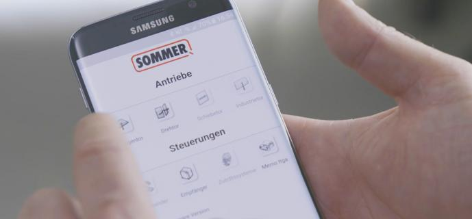 SOMMER SOMlink service interface for specialist retailers