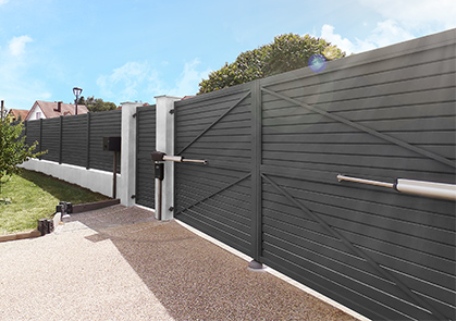 New: twist 350 rapido swing gate operator from SOMMER