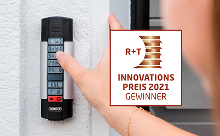 The Telecody Courier from SOMMER is nominated for the R+T Innovation Award 2021