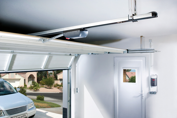 Duo vision sommer france s a r l for Porte de garage aludoor