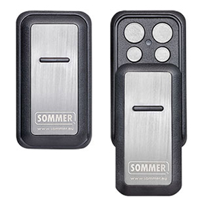 Slider Vibe 4-command handheld transmitter with SOMloq2 from SOMMER