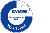"Added security through ""Type-tested"" certification"