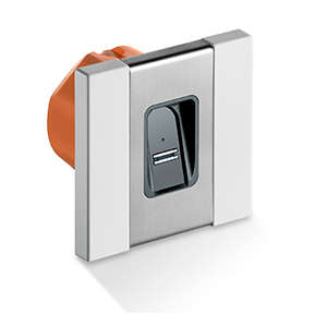 Access control system for flush-mounting from SOMMER