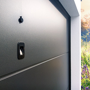 Access control system for door panels